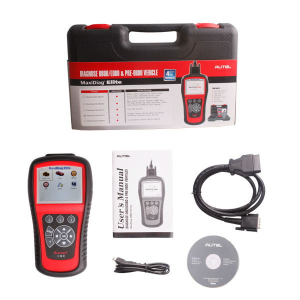 High Quality Autel Maxidiag Elite MD704 With DS Model for 4 System Update Internet