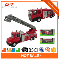 1/60 diecast firefighter truck model for kids