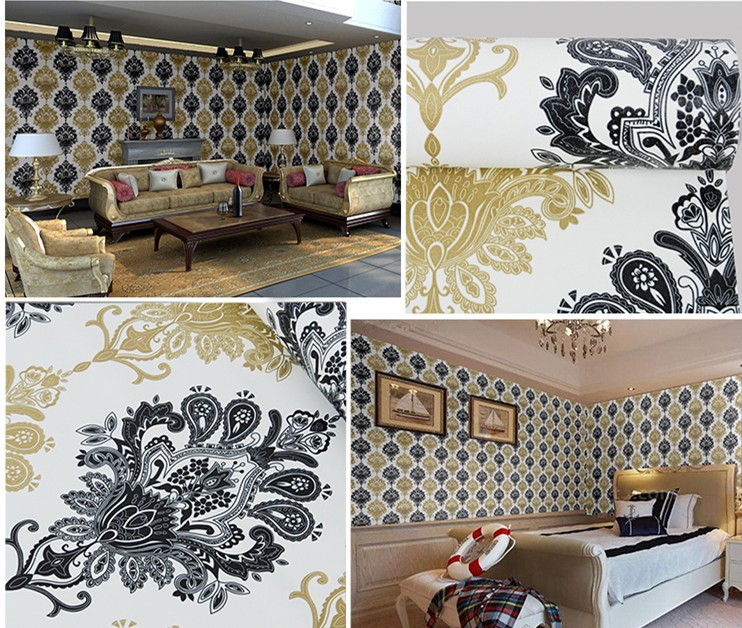2016 Waterproof Wall Decoration Stickers Removable Self adhesive Wallpaper/wall paper