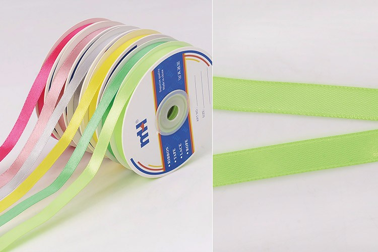"3/8"" (10mm) Polyester Satin Ribbon Single Sided for Gifts"