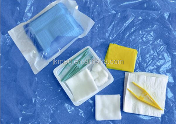 medical basic dressing set for patient