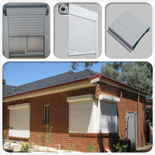 Cheap Price High Quality Aluminum Roller Shutter Window