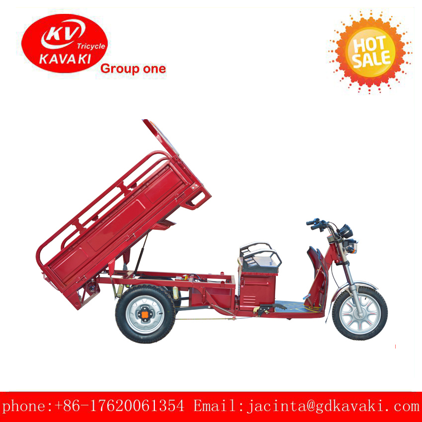 2017 new adult 3 wheel electric tricycle with motor driven farm vehicle