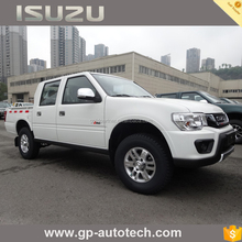 Isuzu brand double cab diesel 4x2 4x4 pickup with 130 km/h spped offroad pickup