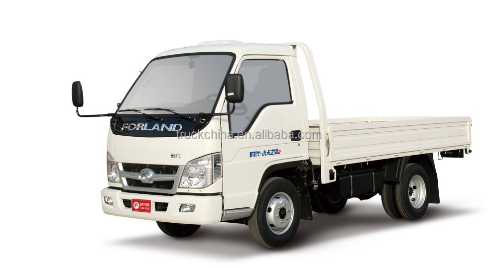 Foton forland 2 ton 4x2 light truck small cargo truck for sale in Africa