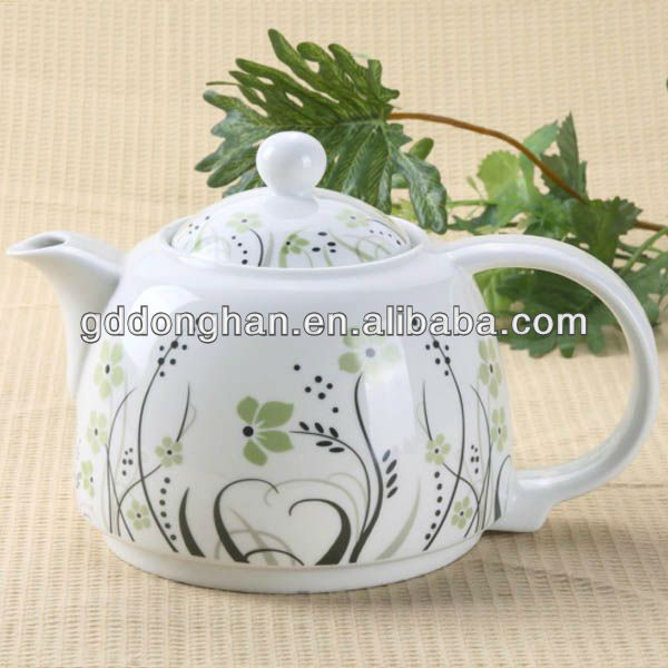 Serving insulated water china clay teapot for dubai