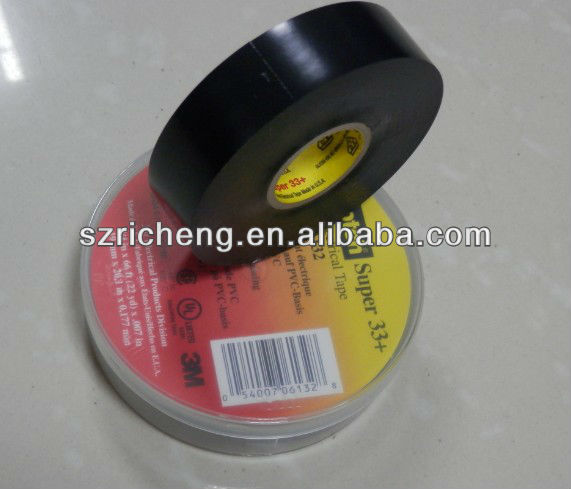 Scotch Vinyl Electrical Tape of High Temperature Resistance Tape Super 33+