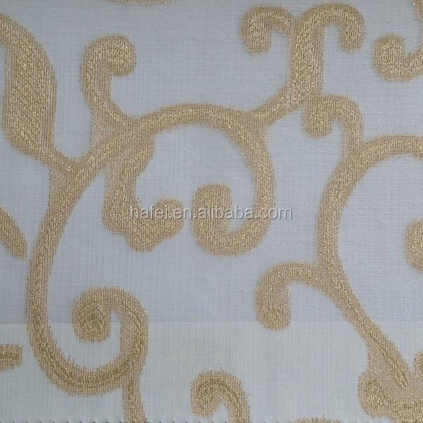 Cheap hotel project fabric latest curtains pipes