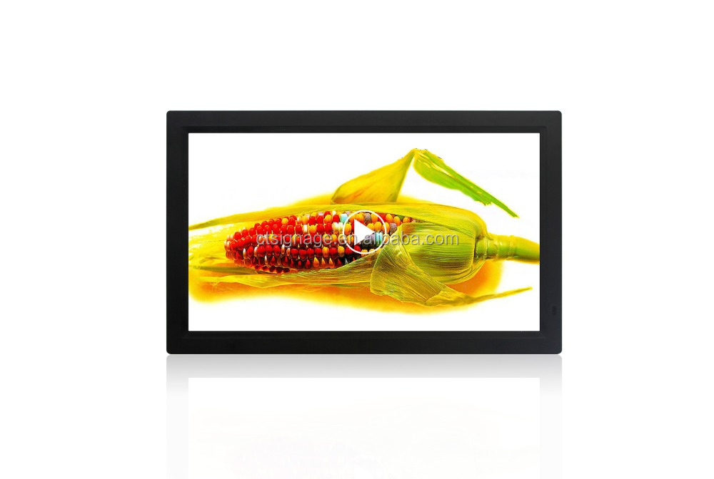 21.5 inch full HD resolution digital signage tablets support 10-points multi-touch
