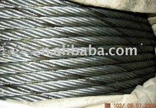 nylon rope with steel core made in China