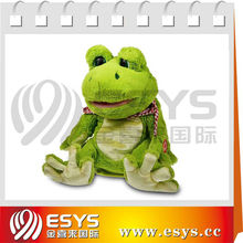 singing plush toy frog stuffed animal