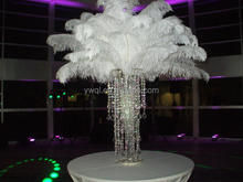 fascinator White or Ivory ostrich feather plume for wedding decoration