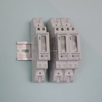 Single phase Din rail digital energy meter with CE LEM012SD