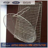 stainless steel barbecue bbq grill wire mesh net