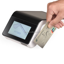 Portable NFC pos machine android system with EMV chip card reader for lottery PT7003
