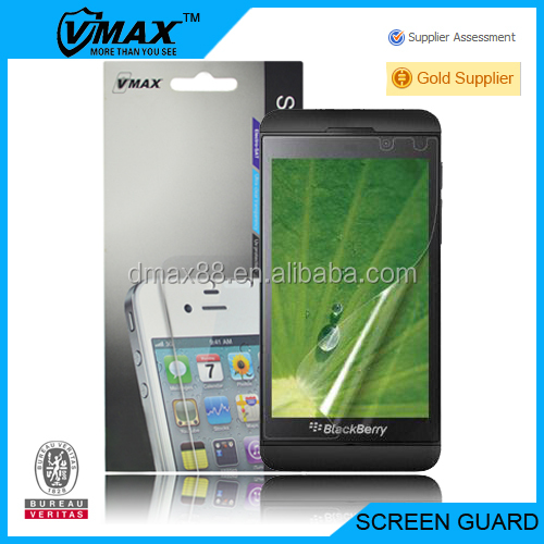 For Blackberry z10 screen protector cell phone oem/odm(High Clear)