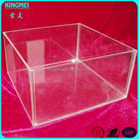 Alibaba china OEM clear acrylic stackable candy bin
