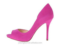 woman hot selling sexy peep toe fashion offce ladies high heel pumps