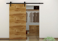 Modern Interior sliding barn door hardware/wood door system
