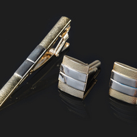 Fashion Cuff Links Tie Clip Gift