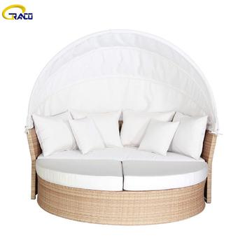 Latest  modern sectional wicker sofa rattan wicker sofa