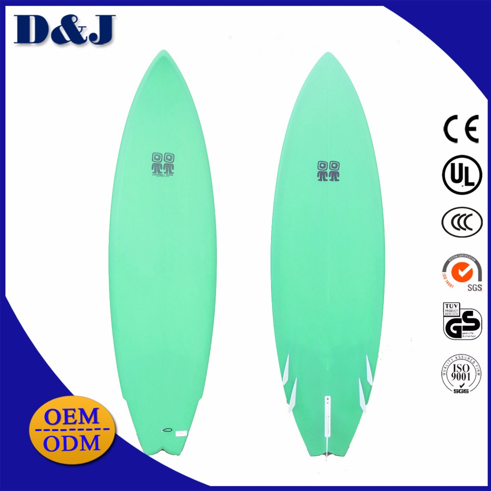 Made in china OEM/ODM Epoxy Foam EPS/EVA/IXBE Fiberglass Wholesale Surfboard with Fins and leash