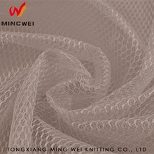 Air Polyester Tricot Lining Anti-Static Tear-Resistant plastic Mesh polyester microfiber Fabric for clothing