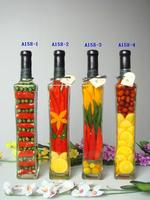 popular high fruit and vegatable decorative bottle
