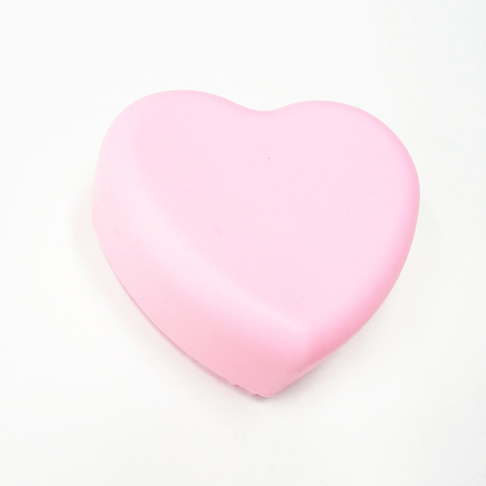 Durable heart shape Silicone Makeup Brush Cleaner