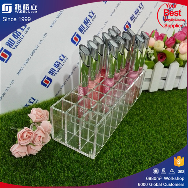 China manufactory Promotion Gifts acrylic lipstick holder /small acrylic display boxes