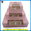 Cheap printing best rectangle greaseproof cupcakes liners