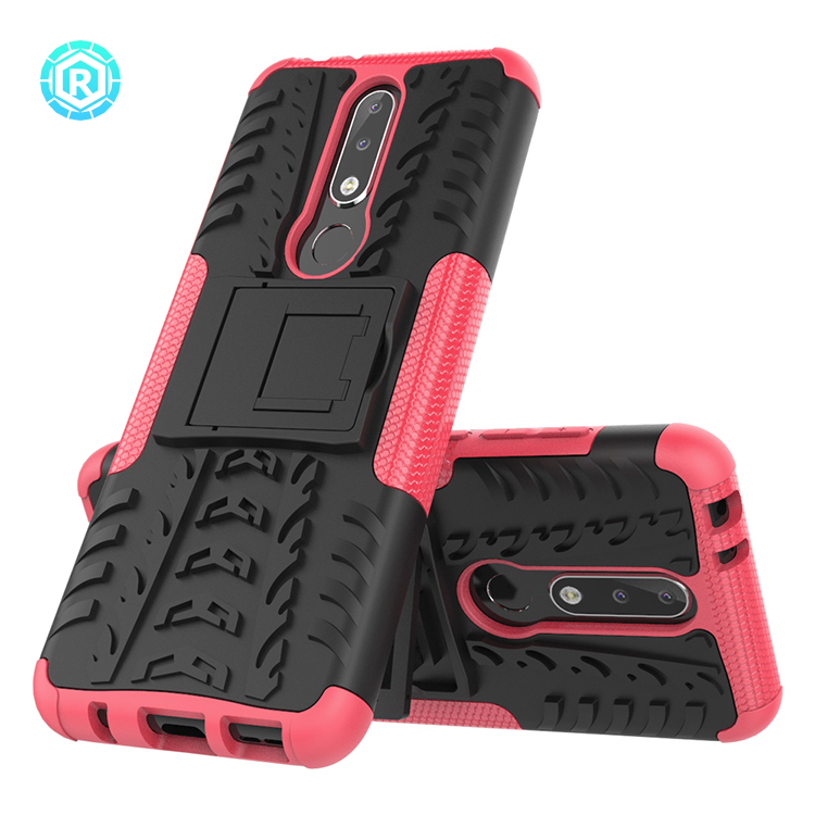 New style original defender case tpu and pc cover case for Nokia x5 lite factory price for Nokia x5