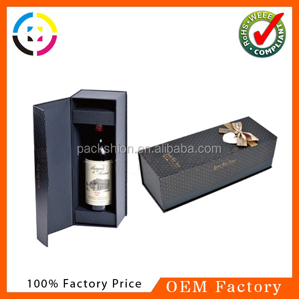 Dongguan gift boxes for wine bottles