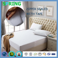 Lab certified customized sizes liquid proof eacasing style mattress encasement for bedding accessories