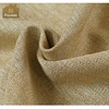 Linen blackout curtain lining fabric polyester fabric indonesia fold curtain