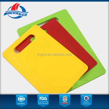 Superior color plastic chopping board with BV factory field certification