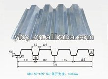 galvanized corrugated floor decking