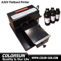 2016 Upgrade A4 size UV printer for Phone case, business card,acrylic, metal.glass etc