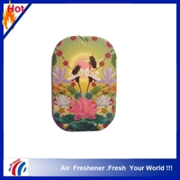 2016 most popular OEM Customized design hanging Paper Car Air Freshener
