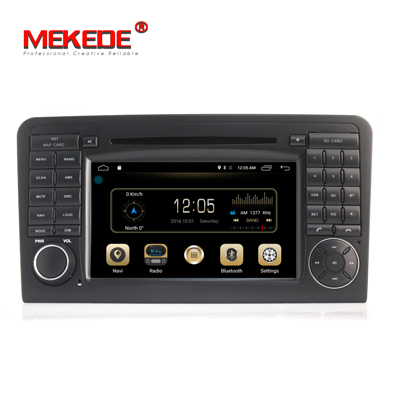 MEKEDE <strong>Android</strong> 8.1 quad core car radio <strong>android</strong> For Ben-z GL ML CLASS <strong>W164</strong> ML350 ML500 X164 GL320 with 2+16GB 4G SIM car audio