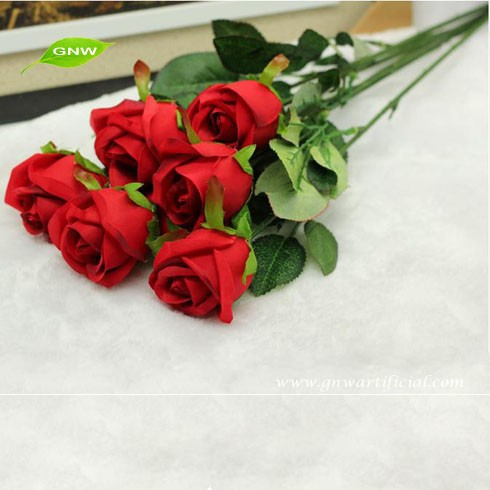 FLS04-5 flower rose indian for wedding decoration plastic flower wholesale artificial flowers cheap