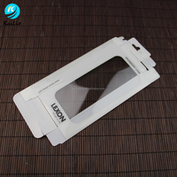a hot sale fancy design cell phone case plastic packaging box for sale
