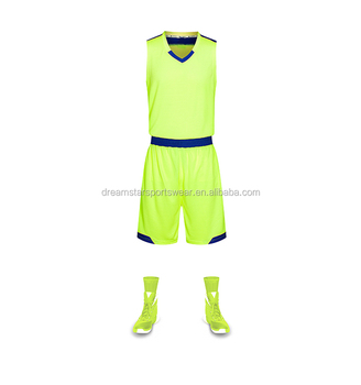 2018 Newly Style Plain Cheap Basketball Uniforms