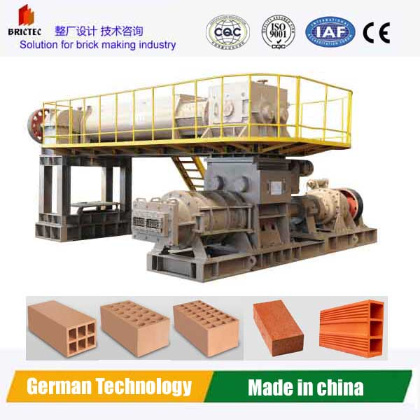 clay brick extruder Vp70 from brictec made in china