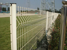 PVC coated Profiled welded mesh fencing