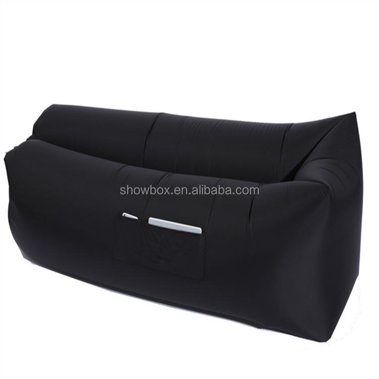 2017 trending promotion square air lounge sofa/ Dropshipping available!!!/inflatable air sleeping bag sofa