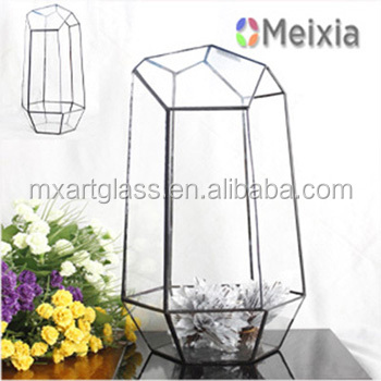 MX130036 Glass terrarium wholesale home decor handicraft