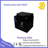 Maintenance free sealed deep cycle rechargeable battery 12v 40ah dry batteries