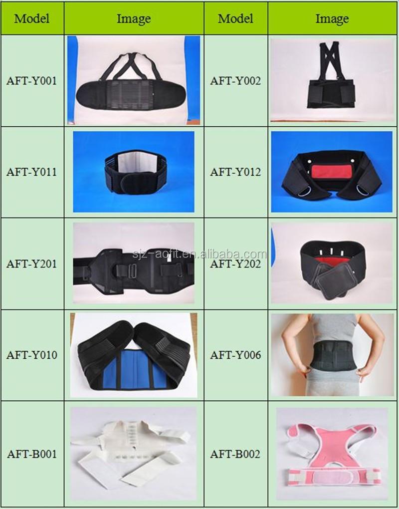 Support de dos inférieur de ceinture de levage de poids de puissance d'haltérophilie de formateur de taille de marque privée pour le levage