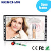 Video play back wall mounted advertising lcd display 7 inch 10.1 inch available
